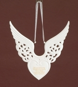 Angel Wings Keepsake Ornament