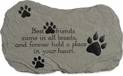 Best Friends Pet Memorial Stone