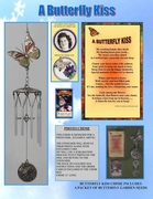 Butterfly Kiss Memorial Wind Chime