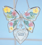 Butterfly Memorial Ornament