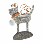 Cat Memorial Figurine - Beloved Friend