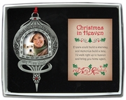 Christmas in Heaven Photo Ornament