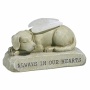 Dog Angel Memorial - Light Up Figurine