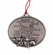 Heaven In Our Home Memorial Ornament