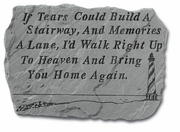 If Tears Could Build A Stairway Memorial Stone