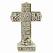 "In Memory Cross ""Those we have held in our arms..."""