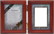 """In Remembrance"" Bereavement Frame Memorial Gift"