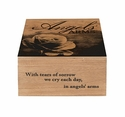 Keepsake Memory Box - Angels' Arms - Engravable