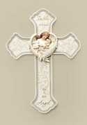 "Loss of Baby Memorial Cross ""In the Arms of an Angel"""