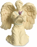Memorial Angel w/butterfly and Broken Chain Bookmark