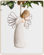 "Memorial Keepsake Ornament  ""Thinking of You"""