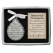 Memorial Ornament - Those We Love Don't Go Away