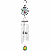 Memorial Wind Chimes - Goodbyes Are Not Forever