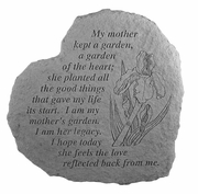 Mother Memorial Stone - My Mother Kept A Garden