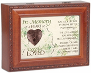 Musical Memory Box With Locket - Heart So Loved