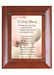 Personalized Keepsake Box- Thought Of You With Love