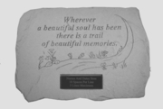 Personalized Memorial Stone Wherever A Beautiful Soul