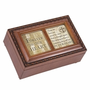 Personalized Music Memory Box - Forever In Heart