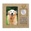 Pet Memorial Frame With Remembrance Tag