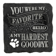 Pet Memorial Stone / Favorite Hello