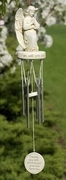 Praying Angel Memorial Wind Chimes
