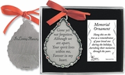 Remembrance Ornament - Gone Yet Not Forgotten