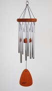 Sympathy Wind Chime - Gone, Yet Not Forgotten - Engraved