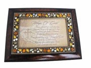 Wings of Gold Memorial Keepsake Music Box