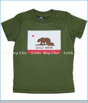 24-7 Daddyhood, Locally Grown Tee in Olive