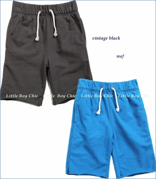 Appaman, Camp Shorts in Reef or Vintage Black (c)