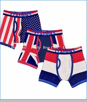 Claesen's, Red White Blue Boxer Briefs 3-Pack
