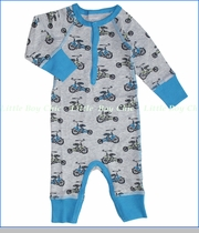 Coccoli, Blue Tricycle Unionsuit