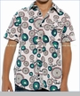 Desigual, Univers Buttoned Shirt in Blanco (c)