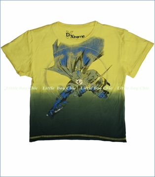 Dx-xtreme, Batman High Point Tee in Yellow (c)