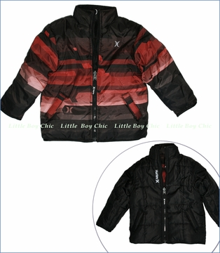 Hurley, Kinetic Reversible Puff Zip Jacket (c)