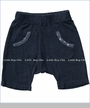 Joah Love, Mikko Knit Shorts in Navy (c)