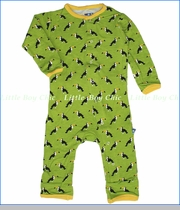 Kickee Pants, Toucan Coverall in Meadow