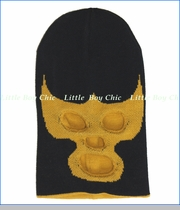 Neon Eaters, Luche Libre Beanie in Black