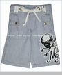 Monster Republic, Blue Stripe Shorts (c)