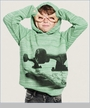 Munster, Kicker French Terry Hoodie in Green Marle