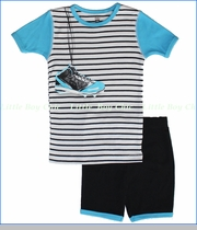Petit Lem, Baseball Shoes Pajama Set