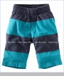 Tea Collection, Colorblock Shorts in Indigo