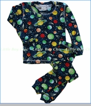 Thingamajiggies 4 Kids, Planets Long Pajama Set
