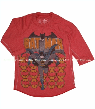 Trunk, Batman Out For Justice Tee in Scarlet (c)
