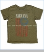 Trunk, Nirvana Smiley Flag Tee in Army (c)