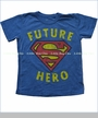 Trunk, Superman Future Hero Tee in Cadet (c)