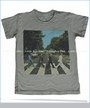 Trunk, The Beatles Abbey Road Cover Tee in Castle (c)
