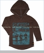 Trunk, The Beatles Something New Hooded Tee in Pecan (c)