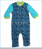 Zutano, Dino City Play Romper