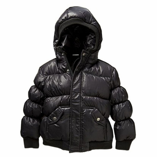 Black Puffy Coat